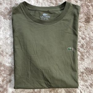 Lacoste Alligator Logo T-shirt Medium 5